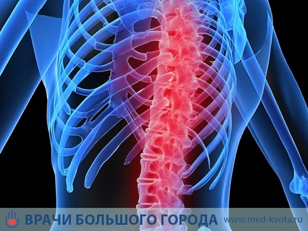 Результаты рентгена отдела грудной клетки